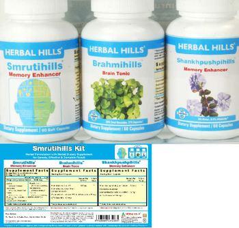 Herbal Hills Smrutihills Kit Brahmihills - supplement
