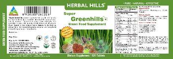 Herbal Hills Super Greenhills Green Food Supplement - green food supplement