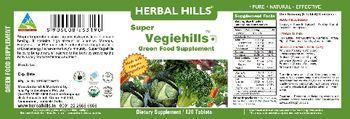 Herbal Hills Super Vegiehills Green Food Supplement - supplement