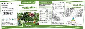 Herbal Hills Super Vegiehills - green food supplement