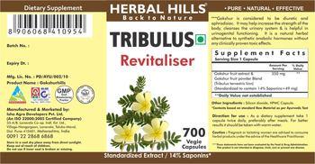 Herbal Hills Tribulus - supplement