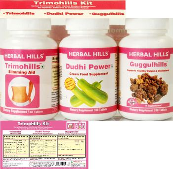 Herbal Hills Trimohills Kit Guggulhills - supplement