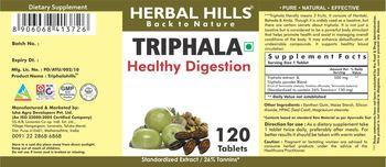 Herbal Hills Triphala - supplement