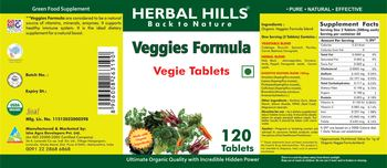 Herbal Hills Veggie Formula - green food supplement