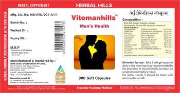 Herbal Hills Vitomanhills - supplement