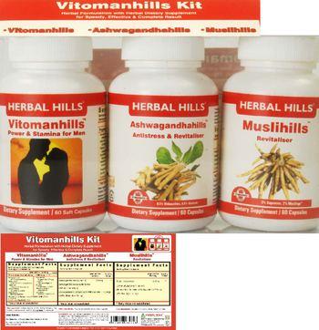 Herbal Hills Vitomanhills Kit Vitomanhills - supplement