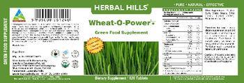 Herbal Hills Wheat-O-Power Green Food Supplement - green food supplement