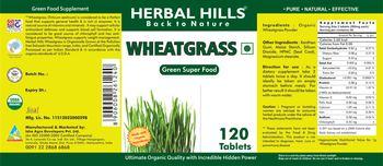 Herbal Hills Wheatgrass - green food supplement