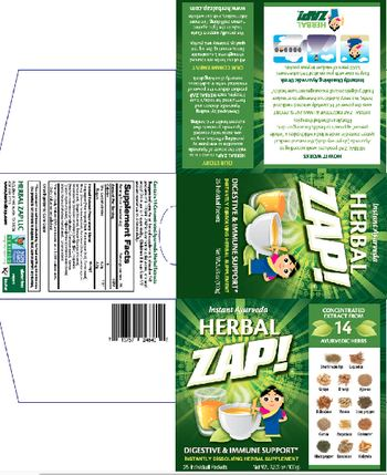 Herbal Zap Digestive & Immune Support - herbal supplement