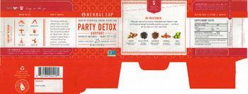 Herbal Zap Party Detox Support - herbal supplement