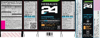 Herbalife 24 Hydrate Tangerine Citrus - supplement