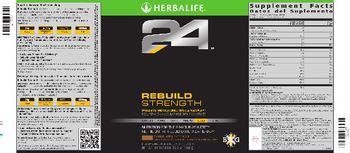 Herbalife 24 Rebuild Strength Chocolate - supplement