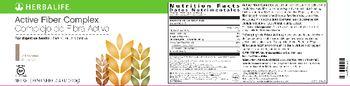 Herbalife Active Fiber Complex Unflavored -