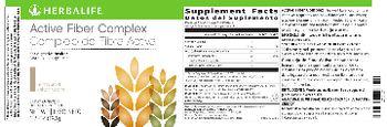 Herbalife Active Fiber Complex Unflavored - supplement