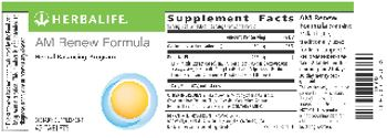 Herbalife AM Renew Formula - supplement