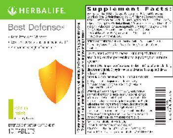 Herbalife Best Defense Citrus Mint - effervescent supplement