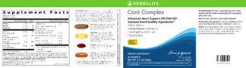 Herbalife Core Complex - supplement