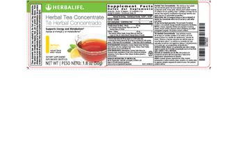 Herbalife Herbal Tea Concentrate Lemon - supplement