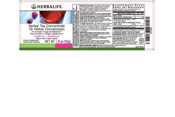 Herbalife Herbal Tea Concentrate Raspberry - supplement