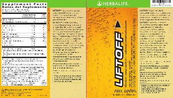 Herbalife Liftoff Ignite-Me Orange - effervescent energy supplement