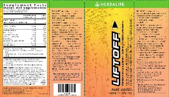 Herbalife Liftoff Tropical Fruit Force - effervescent energy supplementnaturally flavored supplement