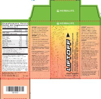 Herbalife Liftoff Tropical Fruit Force - naturally flavored supplement