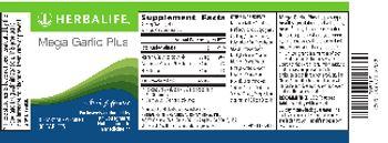 Herbalife Mega Garlic Plus - supplement