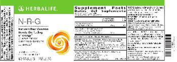 Herbalife N-R-G Nature's Raw Guarana - supplement