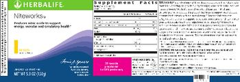 Herbalife Niteworks Lemon - supplement