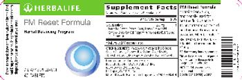 Herbalife PM Reset Formula - supplement