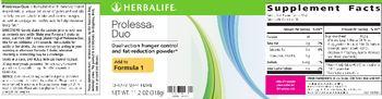 Herbalife Prolessa Duo - supplement