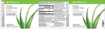 Herbalife Ready Herbal Aloe - supplement
