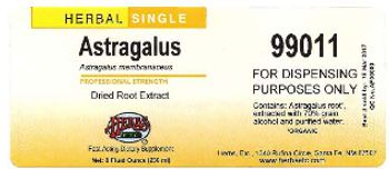 Herbs Etc. Astragalus - fastacting supplement