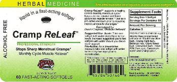Herbs Etc. Cramp ReLeaf - fastacting supplement