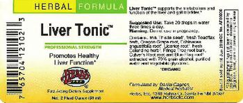 Herbs Etc. Liver Tonic - fastacting supplement