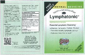 Herbs Etc. Lymphatonic - herbal supplement
