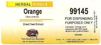 Herbs Etc. Orange - fastacting supplement