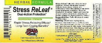 Herbs Etc. Stress ReLeaf Dual-Action Protection - fastacting supplement