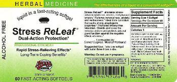 Herbs Etc. Stress ReLeaf - herbal supplement