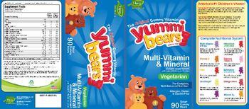Hero Nutritionals Yummi Bears Multi-Vitamin & Mineral - supplement