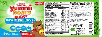Hero Nutritionals Yummi Bears Super Complete Multi + Omega - supplement