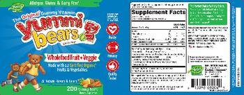 Hero Nutritionals Yummi Bears Wholefood Fruit + Veggie - supplement