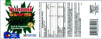 Hero Nutritionals Yummi Gworms SourZ - supplement