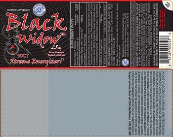 Hi-Tech Pharmaceuticals Black Widow - supplement