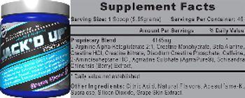 Hi-Tech Pharmaceuticals Jack'd Up Grape Flavor - supplement