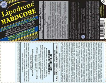 Hi-Tech Pharmaceuticals Lipodrene Hardcore - supplement