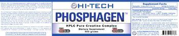 Hi-Tech Pharmaceuticals Phosphagen - supplement