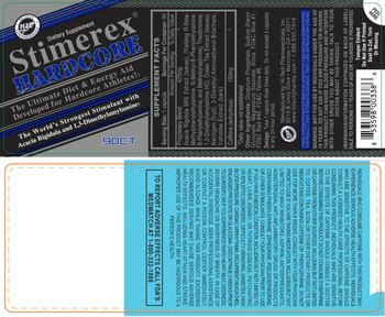 Hi-Tech Pharmaceuticals Stimerex Hardcore - supplement