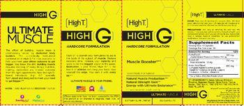 High T High G Hardcare Formulation Muscle Booster - supplement