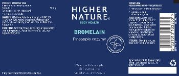 Higher Nature Bromelain - food supplement
